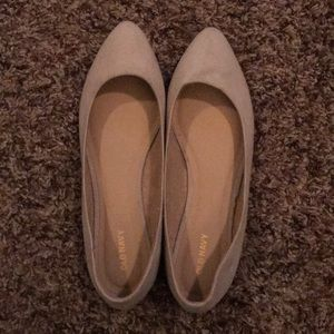Size 9 Old Navy Flats Beige